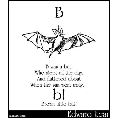 B was a bat