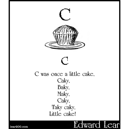 C was once a little cake