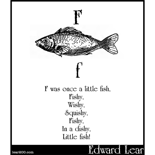 F was once a little fish