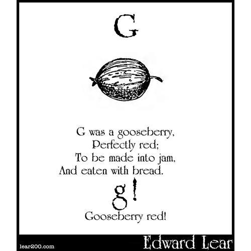 G was a gooseberry