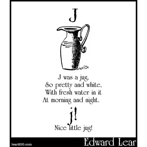 J was a jug