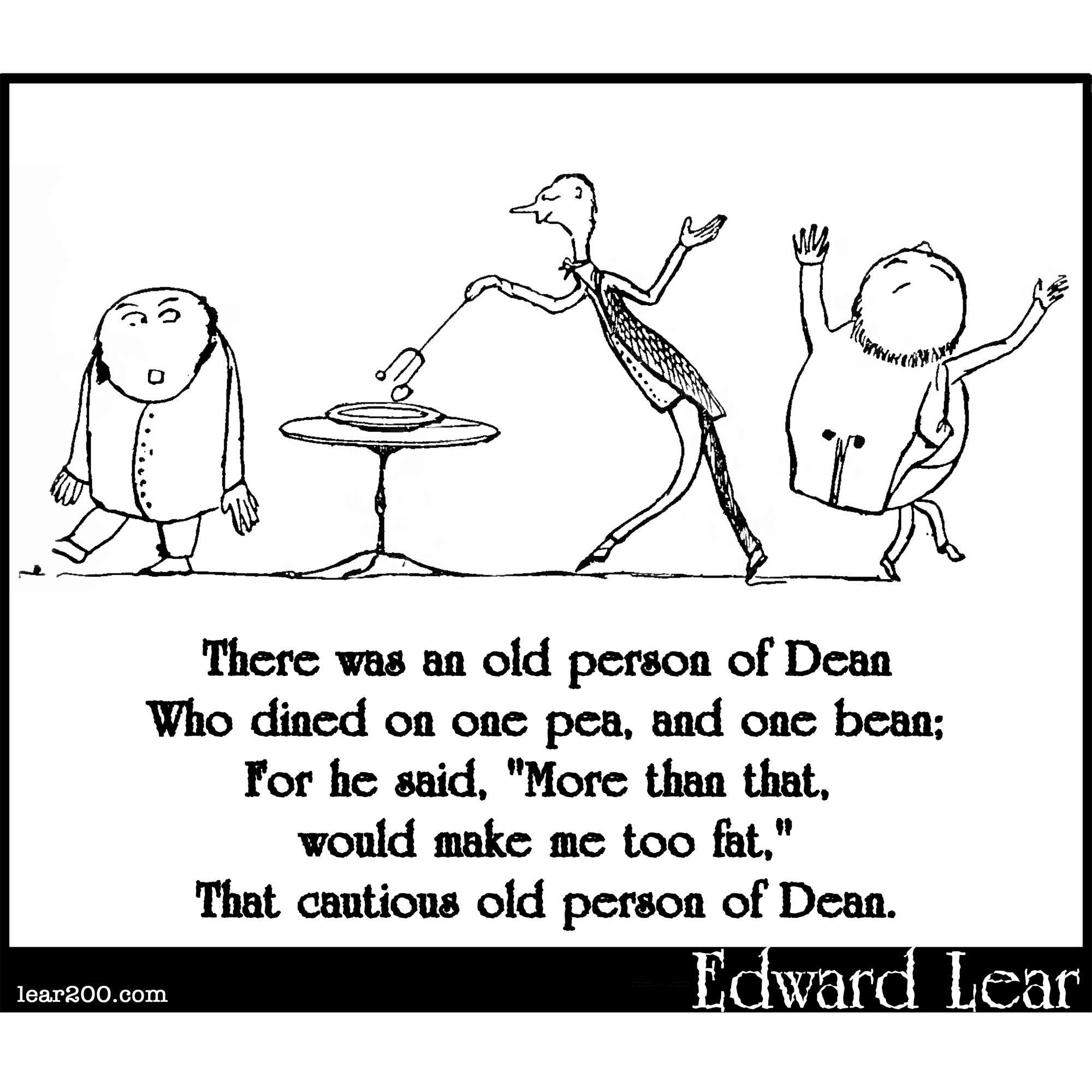 There was an old person of Dean