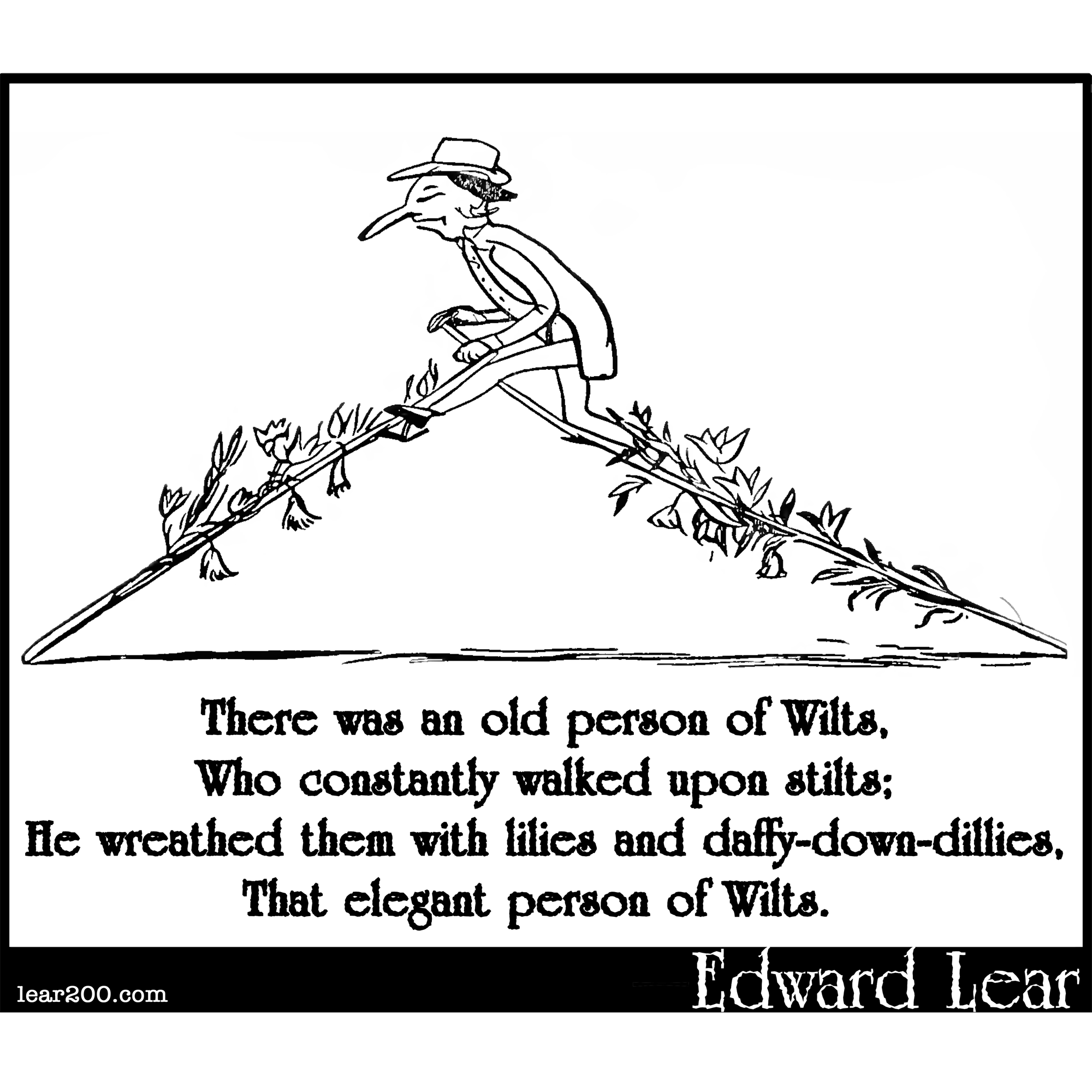 There was an old person of Wilts