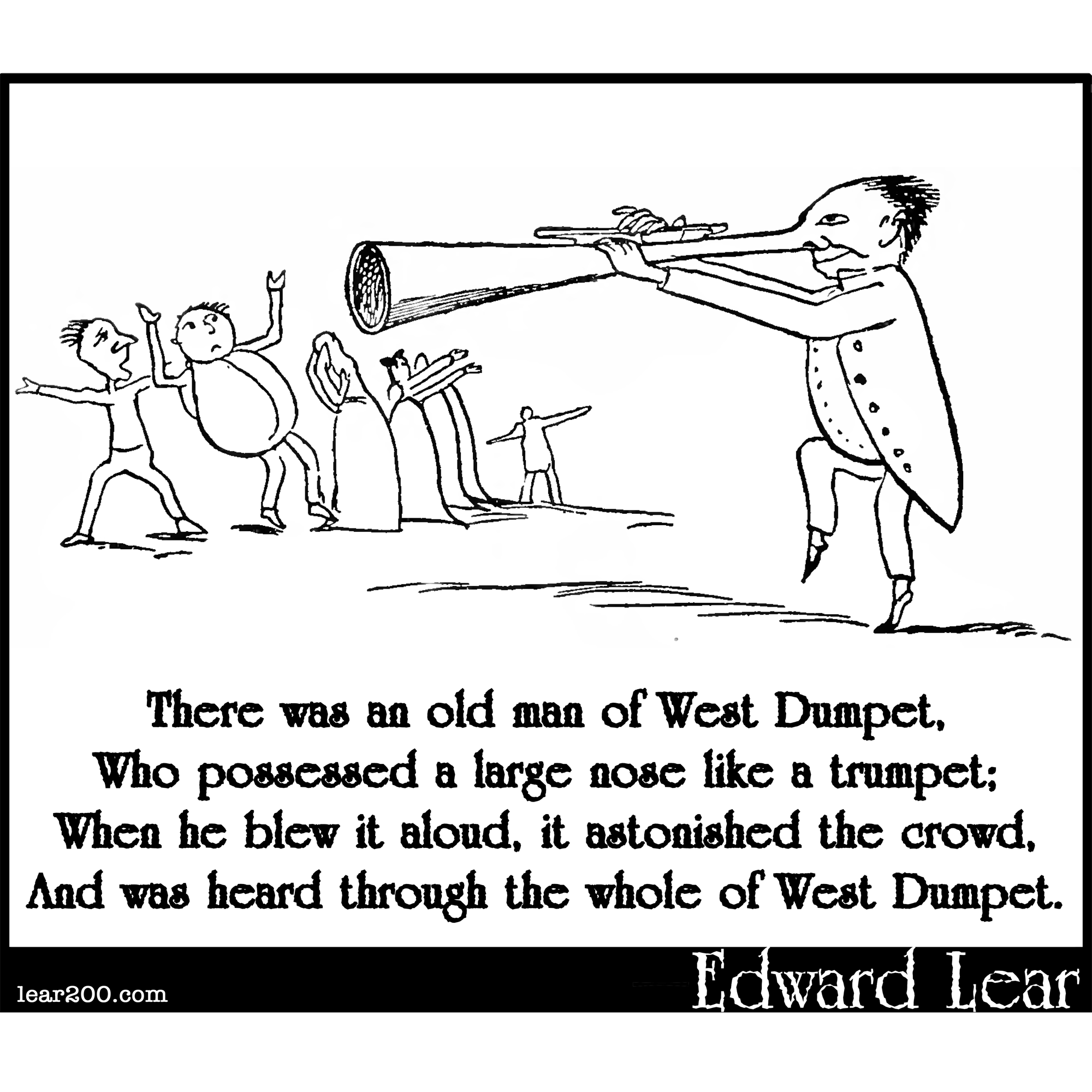 There was an old man of West Dumpet