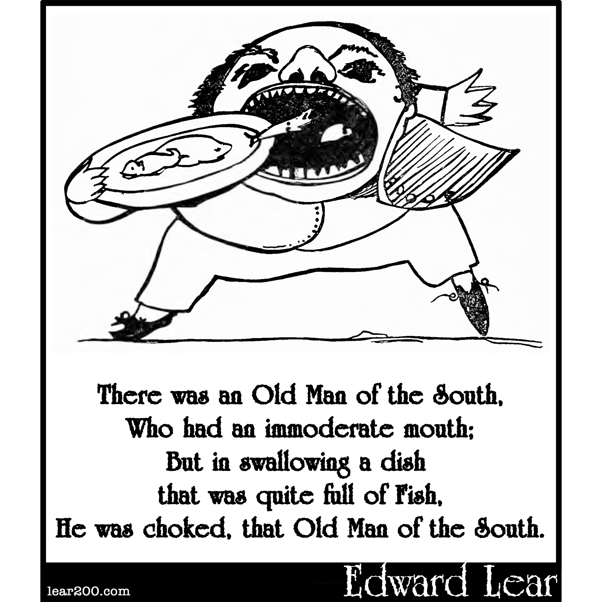 There was an Old Man of the South