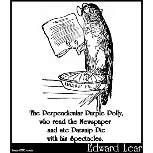 The Perpendicular Purple Polly