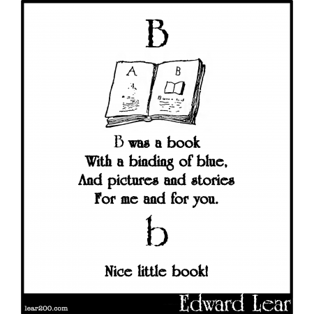 B was a book