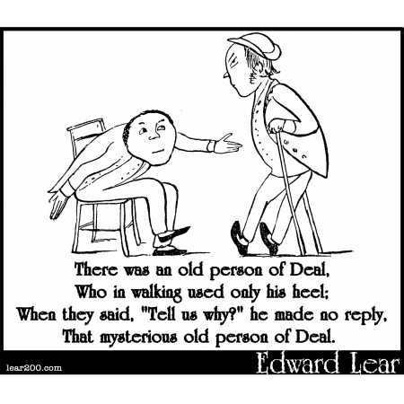 There was an old person of Deal
