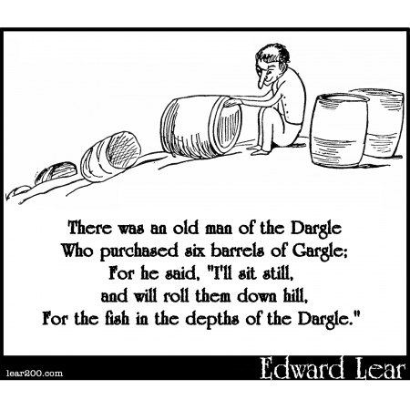 There was an old man of the Dargle