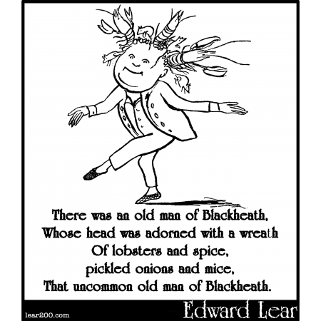 There was an old man of Blackheath