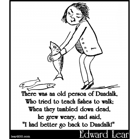 There was an old person of Dundalk