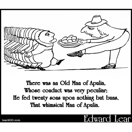 There was an Old Man of Apulia