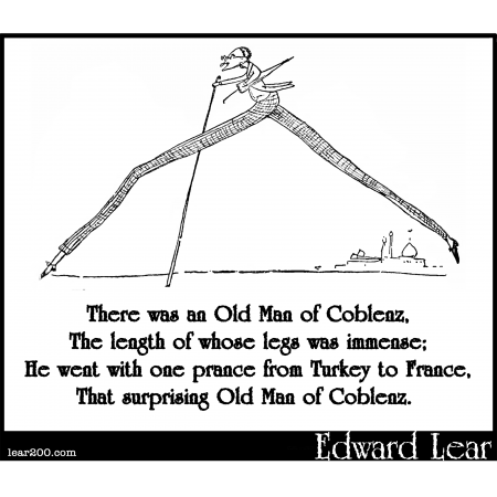 There was an Old Man of Coblenz
