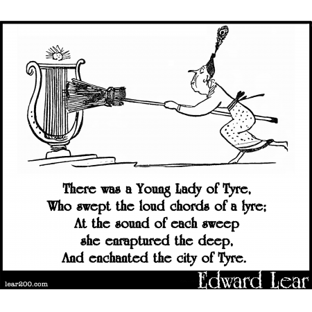 There was a Young Lady of Tyre