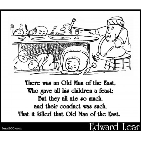 There was an Old Man of the East