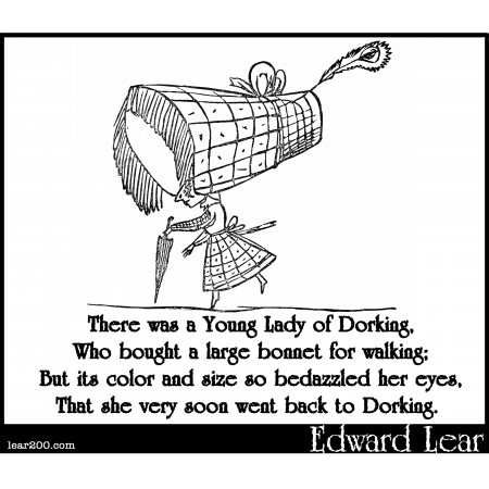 There was a Young Lady of Dorking