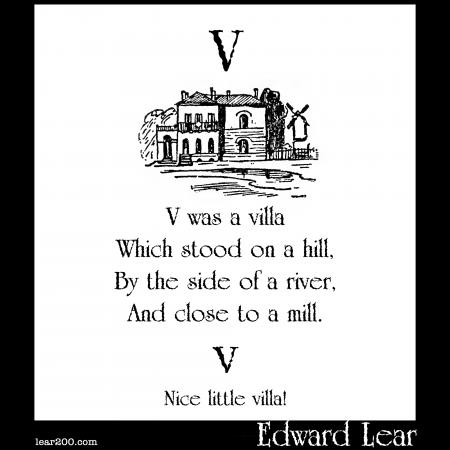 V was a villa