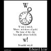 W was a watch