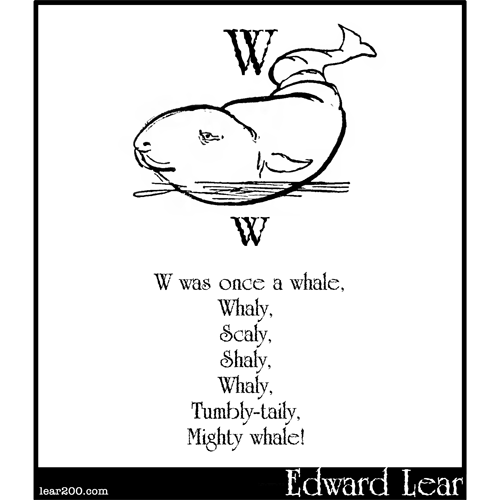 W was once a whale