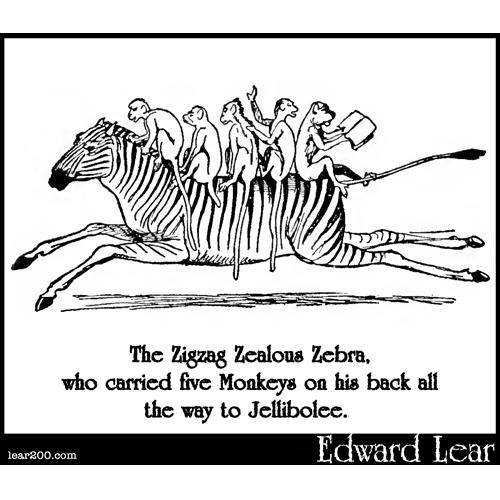The Zigzag Zealous Zebra